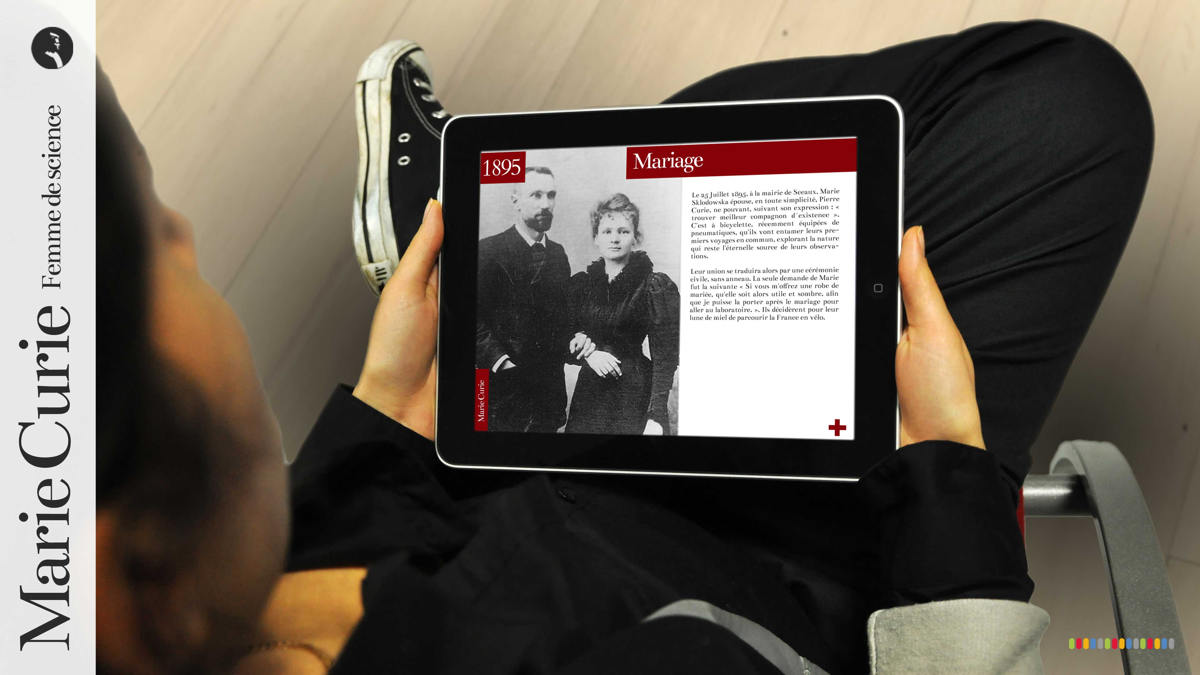 Marie Curie - Application iPad et tablettes